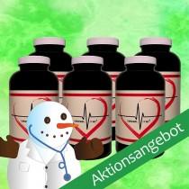 Weihnachtsangebot Vessel Vital® (6 Dosen) + Geschenk