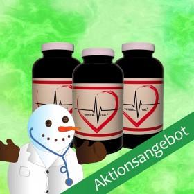 Weihnachtsangebot Vessel Vital® (3 Dosen) + Geschenk
